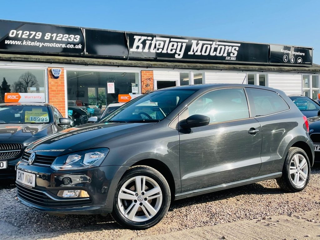 USED 2017 17 VOLKSWAGEN POLO 1.0 MATCH EDITION 3d 60 BHP
