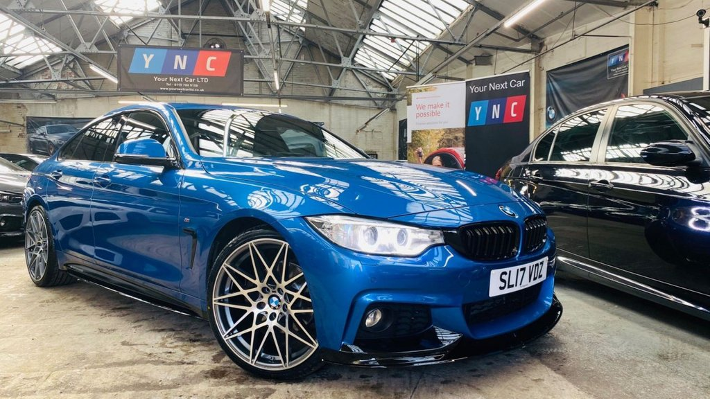USED 2017 17 BMW 4 SERIES 2.0 420d M Sport Gran Coupe (s/s) 5dr PERFORMANCEKIT+20S+XENONS