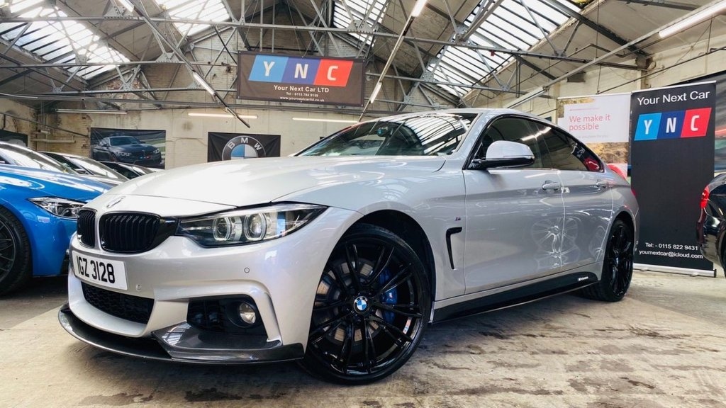 USED 2018 BMW 4 SERIES 3.0 435d M Sport Gran Coupe Auto xDrive (s/s) 5dr BMWMPERFORMANCE+M20S+PLUSPACK