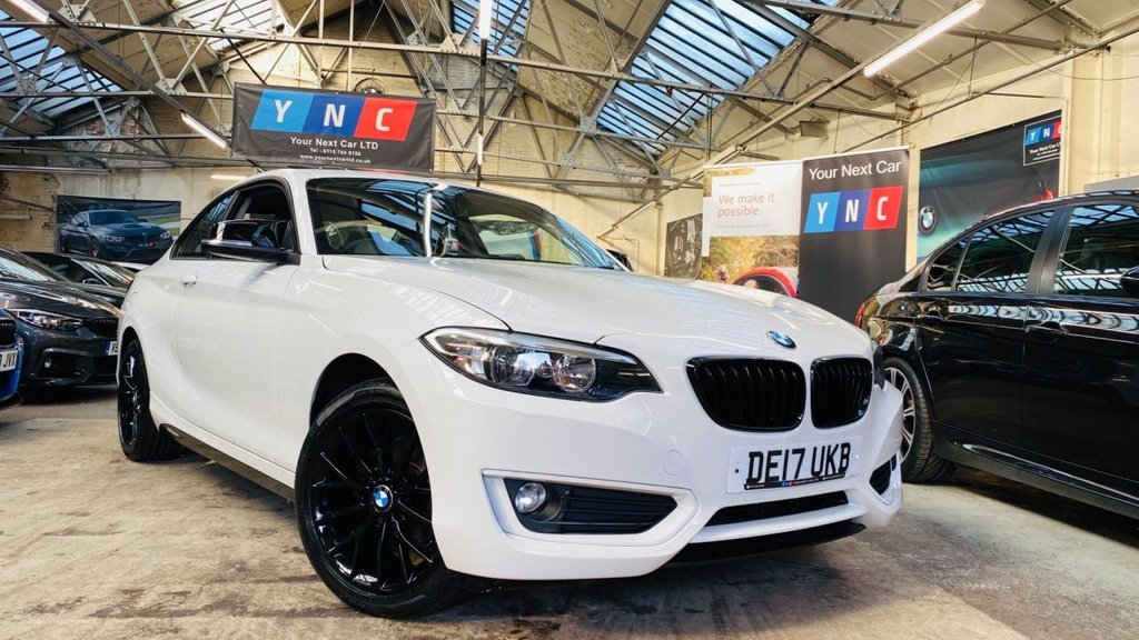 USED 2017 17 BMW 2 SERIES 1.5 218i SE (s/s) 2dr YNCSTYLING+SROOF+HISPEC
