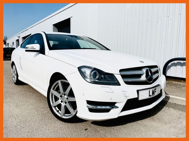 USED 2012 07 MERCEDES-BENZ C-CLASS 2.1 C220 CDI BLUEEFFICIENCY AMG SPORT 2d 170 BHP