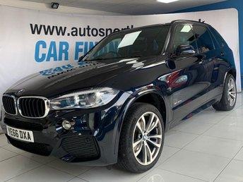 2016 BMW X5 3.0 XDRIVE30D M SPORT 5d 255 BHP £27500.00
