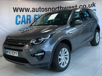 2017 LAND ROVER DISCOVERY SPORT 2.0 TD4 SE TECH 5d 180 BHP £23000.00