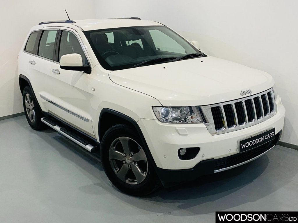 USED 2012 62 JEEP GRAND CHEROKEE 3.0 V6 CRD LIMITED 5d 237 BHP Sat Nav / Cruise Control / Heated front and Rear Leather Seats / Isofix