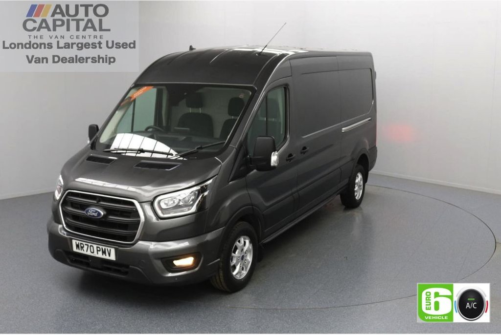 USED 2020 70 FORD TRANSIT 2.0 350 FWD Limited EcoBlue Auto 130 BHP L3 H2 Low Emission Automatic | AppLink | Ford SYNC 3 | Apple CarPlay | Eco | Air Con | Start/Stop | F-R Sensors