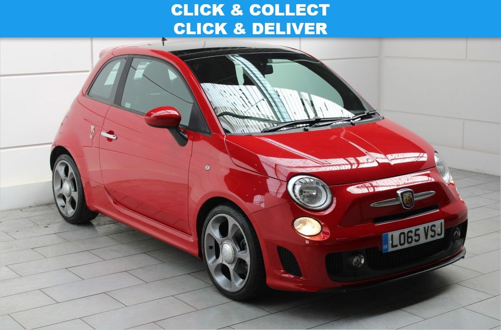 USED 2016 65 ABARTH 595 1.4 T-Jet [SUNROOF][17-inch]