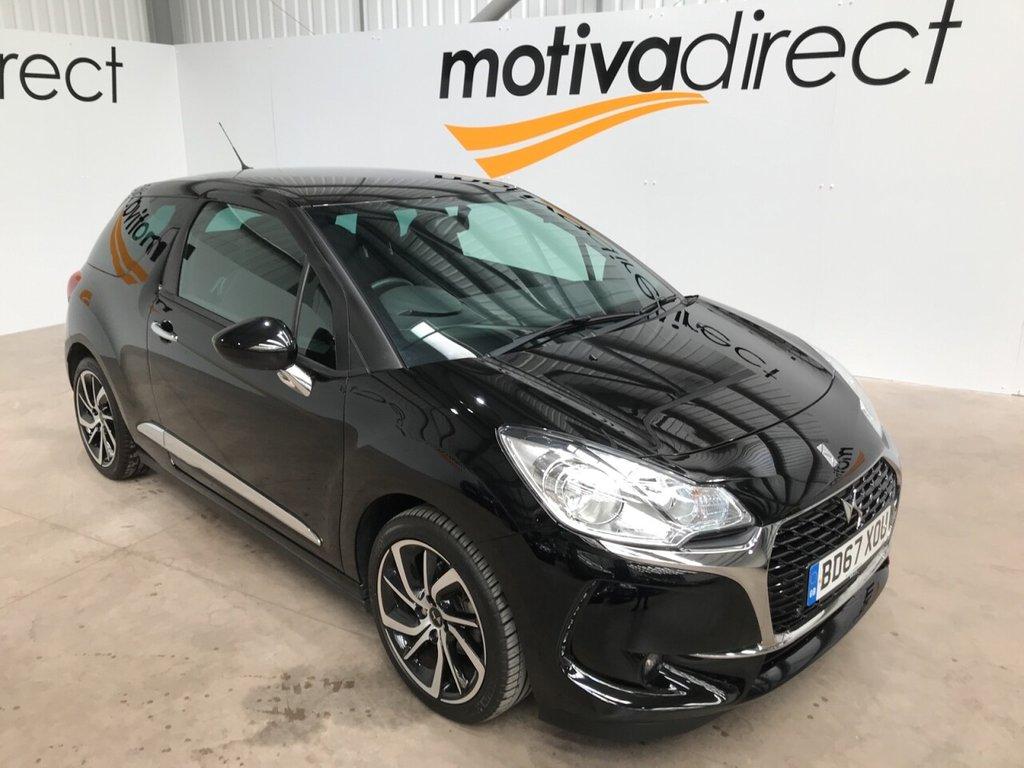 USED 2017 67 DS DS 3 1.2 PURETECH CONNECTED CHIC 3d 80 BHP