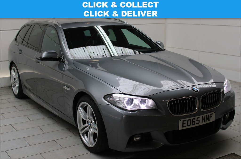 USED 2015 65 BMW 5 SERIES 2.0 520d M Sport Touring Auto