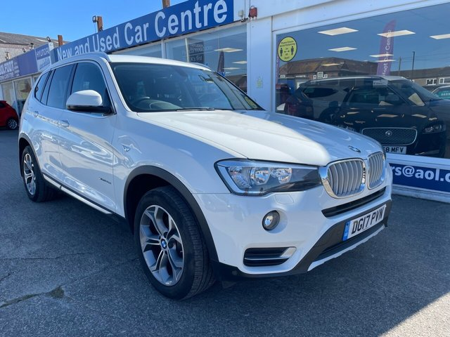 USED 2017 17 BMW X3 2.0 XDRIVE20D XLINE 5d 188 BHP 1 OWNER*LEATHER*NAV*CRUISE*BLUETOOTH*HEATED SEAT*AIRCON