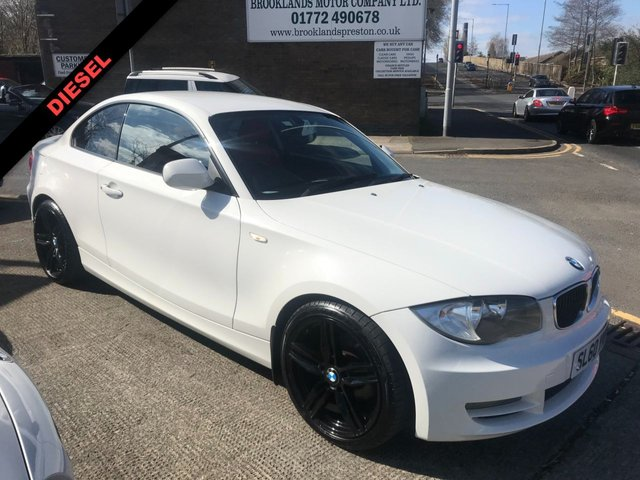 USED 2010 60 BMW 1 SERIES  118D COUPE SPORT 2DR 2.0TD