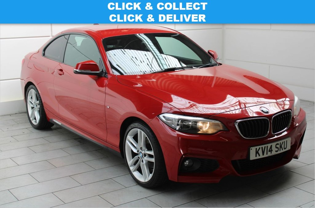USED 2014 14 BMW 2 SERIES 2.0 218d M Sport Auto (start/stop)