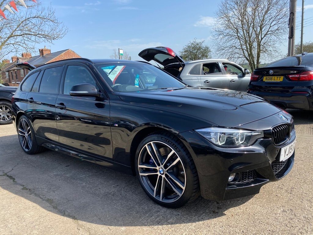 USED 2019 19 BMW 3 SERIES 3.0 335D XDRIVE M SPORT SHADOW EDITION TOURING 5d 308 BHP * 19