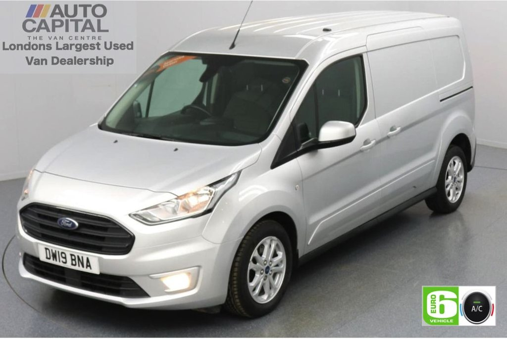 USED 2019 19 FORD TRANSIT CONNECT 1.5 240 Limited EcoBlue 120 BHP L2 LWB 2 Seats Low Emission Keyless | Air Con | Rear Parking Sensors | Alloy wheels | Auto Start-Stop system