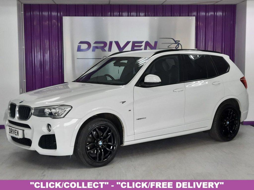 USED 2015 65 BMW X3 2.0 XDRIVE20D M SPORT 5d 188 BHP