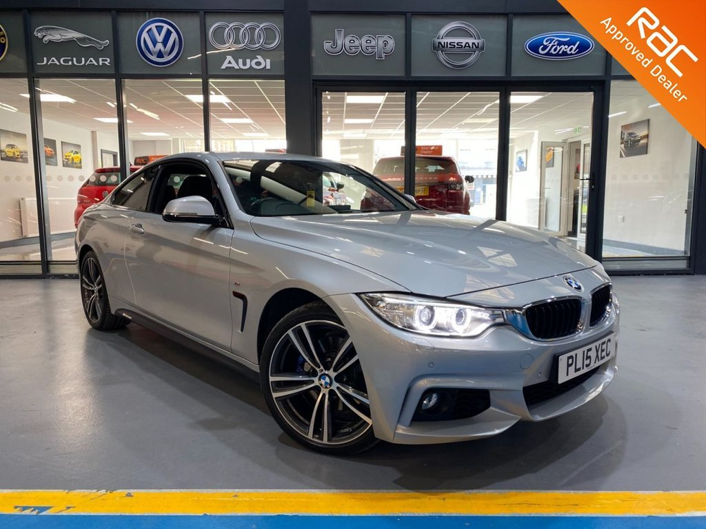 USED 2015 15 BMW 4 SERIES 3.0 435D XDRIVE M SPORT 2d 309 BHP Complementary 12 Months RAC Warranty and 12 Months RAC Breakdown Cover Also Receive a Full MOT With All Advisory Work Completed, Fresh Engine Service and RAC Multipoint Check Before Collection/Delivery