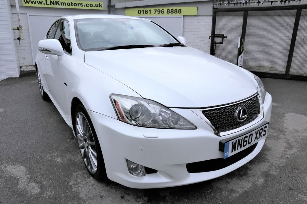 USED 2010 60 LEXUS IS 2.2 220D F-SPORT 4d 175 BHP *CLICK & COLLECT OR DELIVERY *
