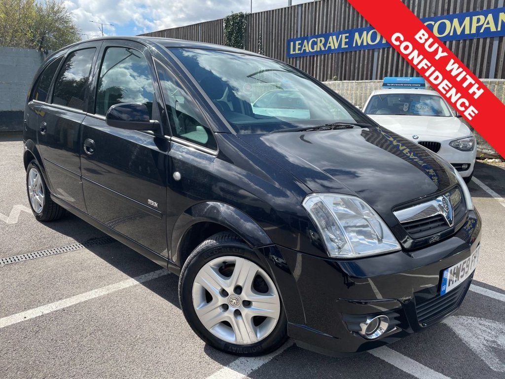 USED 2010 59 VAUXHALL MERIVA 1.4 DESIGN 16V TWINPORT 5d 90 BHP COMES WITH FRESH 12 MONTH MOT
