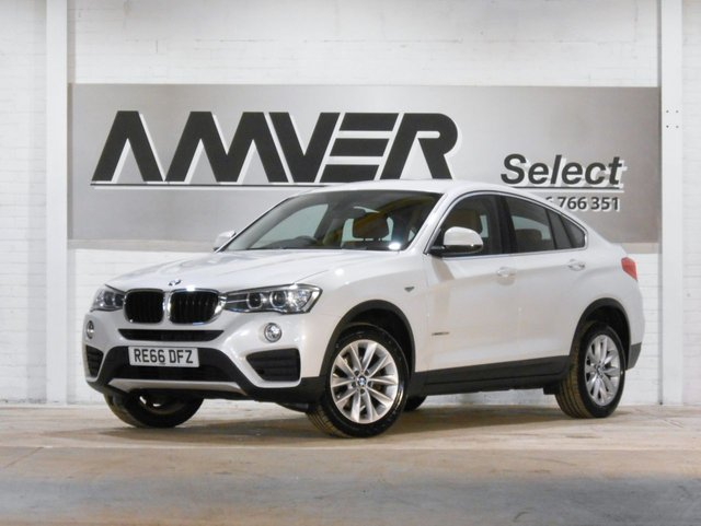 2016 66 BMW X4 2.0 XDRIVE20D SE 4d 188 BHP