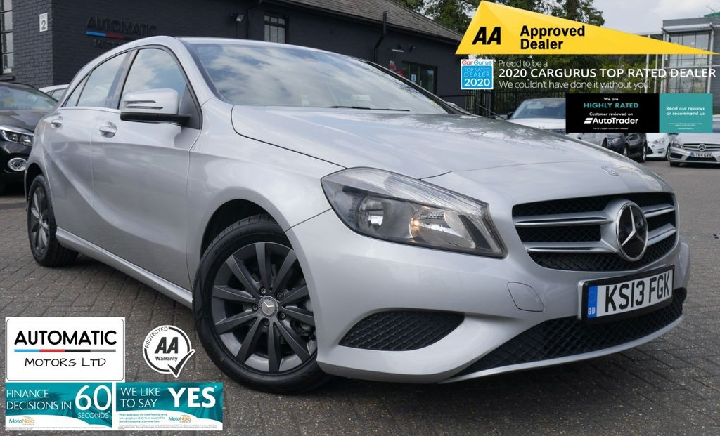 USED 2013 13 MERCEDES-BENZ A-CLASS 1.8 A180 CDI BLUEEFFICIENCY SE 5d 109 BHP 2013MERCEDES-BENZ A-CLASS2 KEYS 1 FORMER KEEPER BLUETOOTH, NAVIGATION, USB/AUX