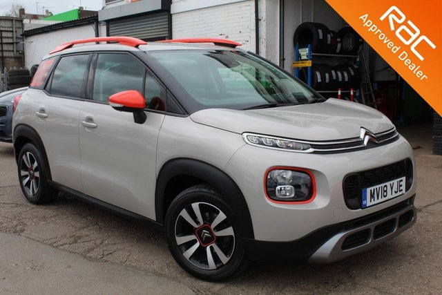 USED 2018 18 CITROEN C3 AIRCROSS 1.2 PURETECH FEEL 5d 81 BHP VIEW AND RESERVE ONLINE OR CALL 01527-853940 FOR MORE INFO.