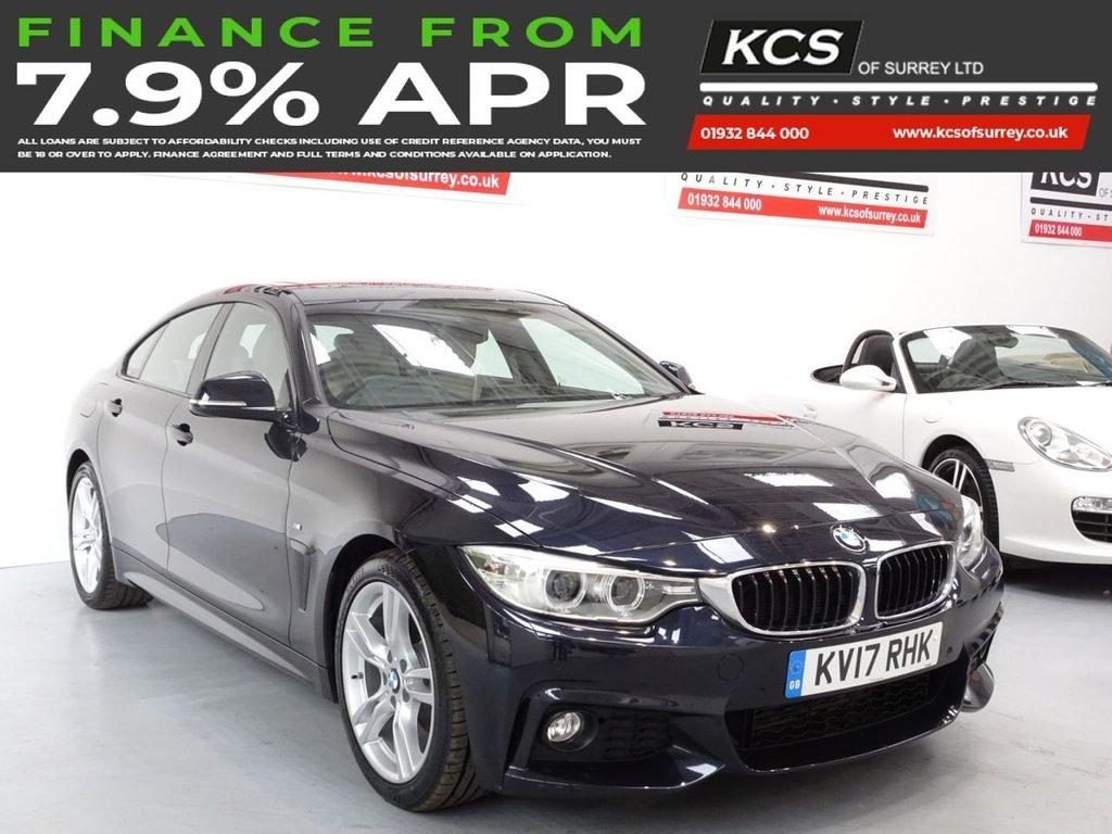 USED 2017 17 BMW 4 SERIES 2.0 420D M SPORT GRAN COUPE 4d 188 BHP PRO NAV - SUNROOF - ELEC SEATS