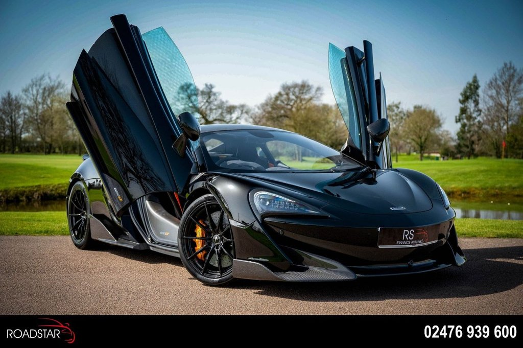 USED 2021 MCLAREN 600LT 3.8T V8 SSG (s/s) 2dr £65000 OF EXTRAS+£248K NEW