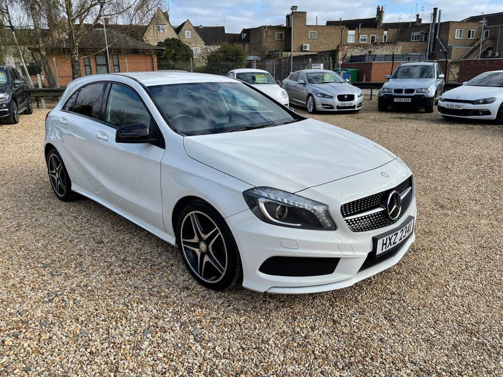 USED 2015 MERCEDES-BENZ A-CLASS 1.5 A180 CDI Night Edition 5dr (E6) £20 Road Tax, Black Pack & Nav