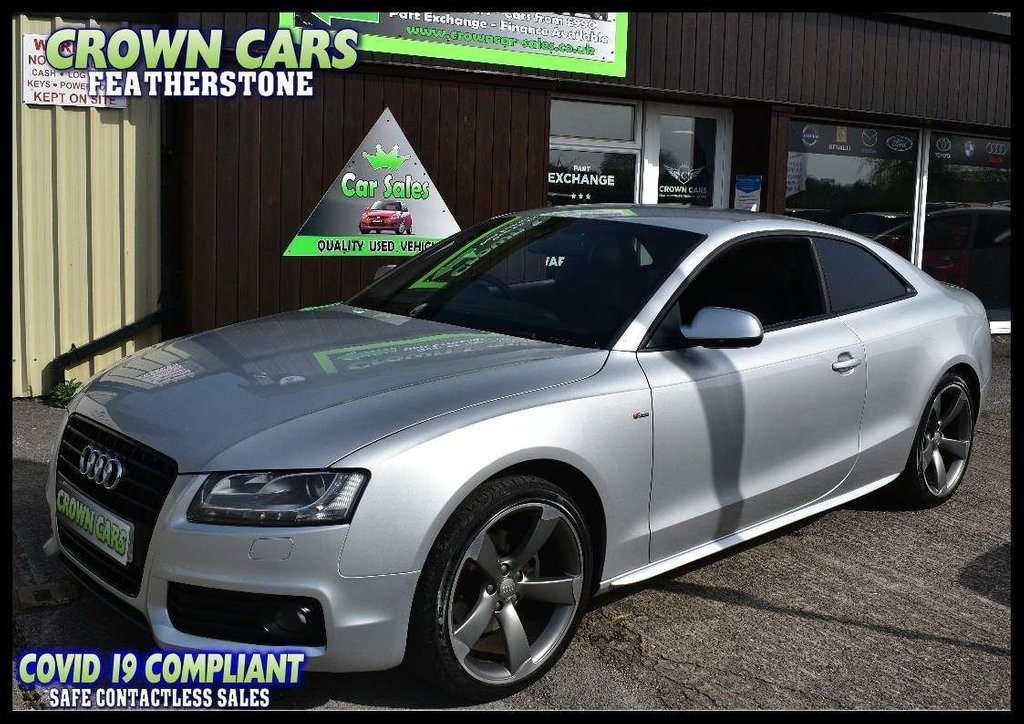 USED 2011 11 AUDI A5 2.0 TDI Black Edition 2dr AMAZING VALUE COUPE