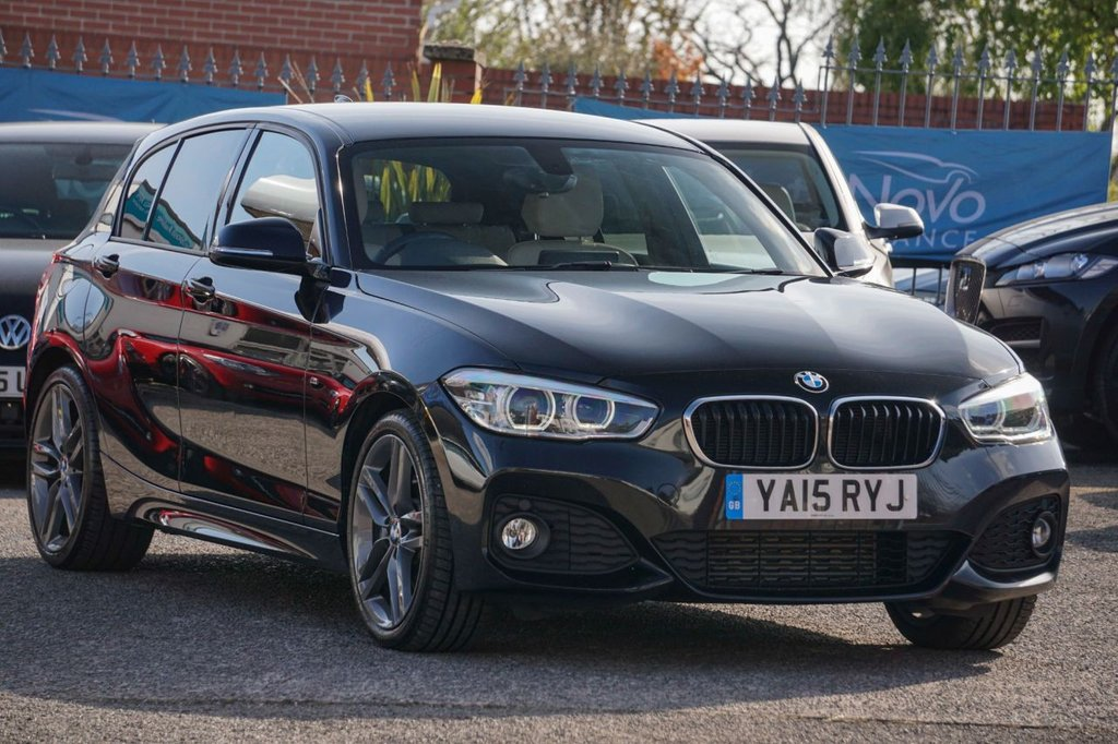 USED 2015 15 BMW 1 SERIES 2.0 125D M SPORT 5d 221 BHP