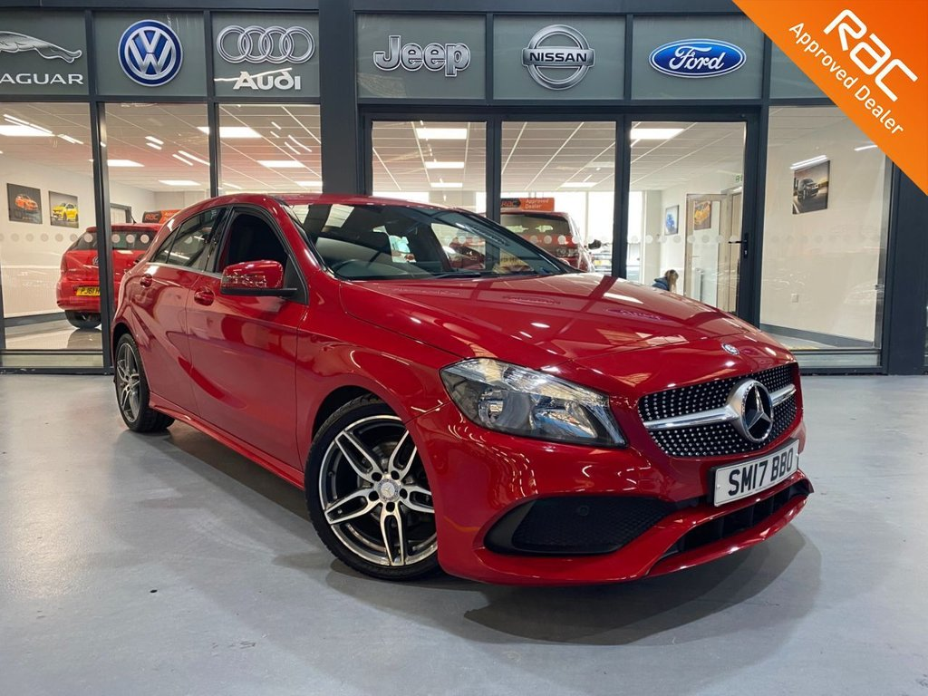 USED 2017 17 MERCEDES-BENZ A-CLASS 1.6 A 180 AMG LINE 5d 121 BHP Complementary 12 Months RAC Warranty and 12 Months RAC Breakdown Cover Also Receive a Full MOT With All Advisory Work Completed, Fresh Engine Service and RAC Multipoint Check Before Collection/Delivery