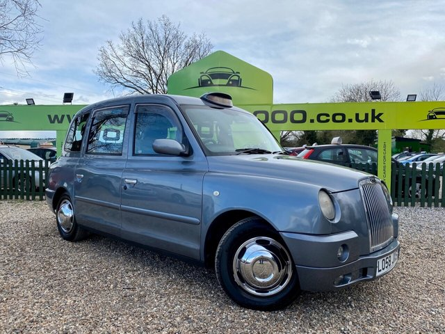 USED 2009 58 LONDON TAXIS INT TX4 2.5 GOLD 4d 100 BHP