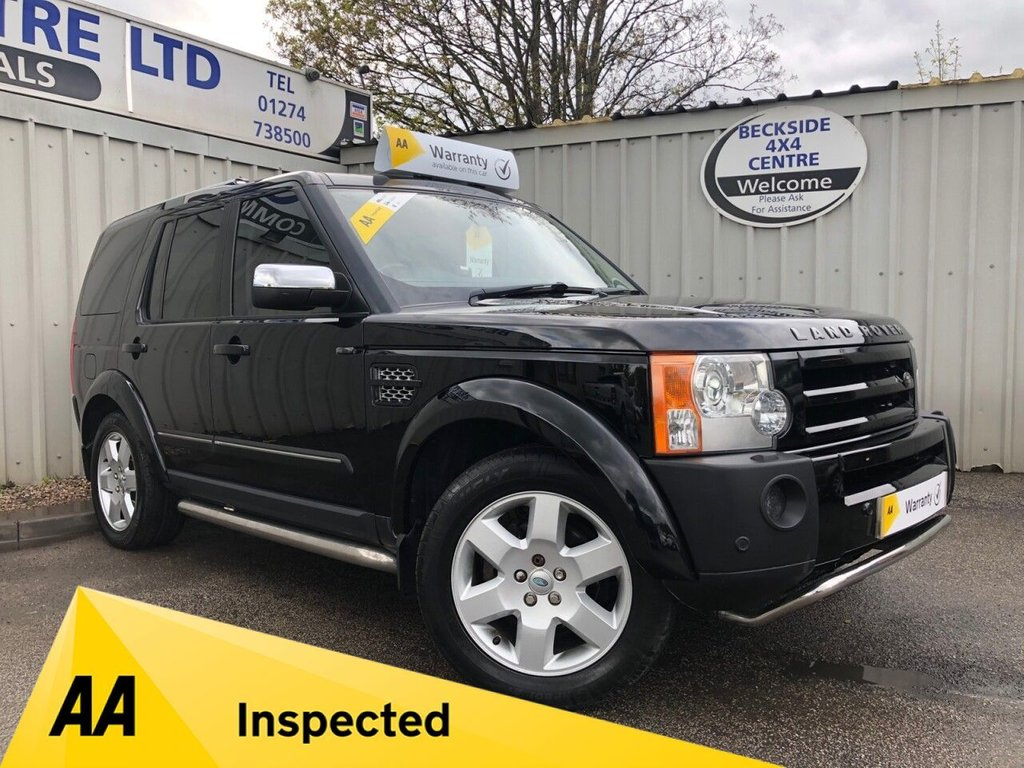 USED 2006 56 LAND ROVER DISCOVERY 3 2.7 3 METROPOLIS LE 5d 188 BHP AA INSPECTED. FINANCE. WARRANTY. 7 SEATER. LOW MILEAGE. MANY EXTRAS