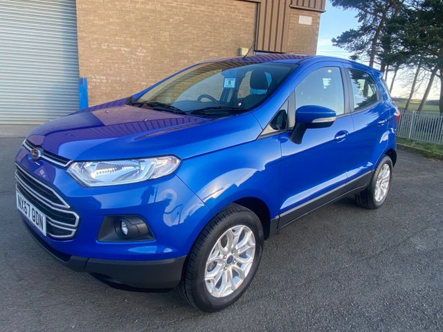 USED 2017 67 FORD ECOSPORT 1.0 ZETEC ONE OWNER 6000 MILES READY TO DRIVE AWAY