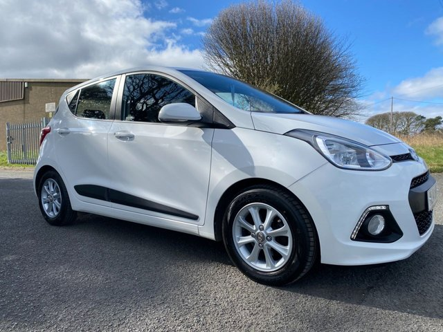 USED 2014 14 HYUNDAI I10 1.2 PREMIUM WHITE VERY CLEAN WELL LOOKED AFTER