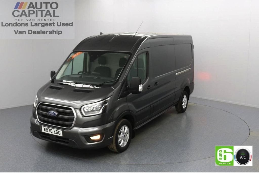USED 2020 70 FORD TRANSIT 2.0 350 FWD Limited EcoBlue Auto 185 BHP L3 H2 Low Emission Sat Nav | Automatic Gearbox | Front and rear parking distance sensors | Alloy wheels