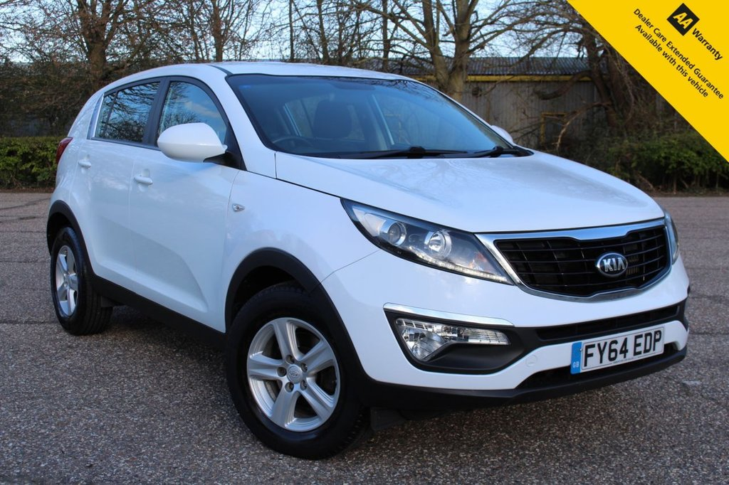 USED 2014 64 KIA SPORTAGE 1.7 CRDI 1 5d 114 BHP ** FULL SERVICE HISTORY ** BRAND NEW MOT - APRIL 2022 ** BRAND NEW SERVICE ** AIR CONDITIONING ** CRUISE CONTROL ** BLUETOOTH + VOICE CONTROL ** USB + AUX CONNECTIONS ** AUTO WIPERS ** CLICK & COLLECT + NATIONWIDE DELIVERY AVAILABLE ** BUY ONLINE IN CONFIDENCE FROM A MULTI AWARD WINNING 5* RATED DEALER **