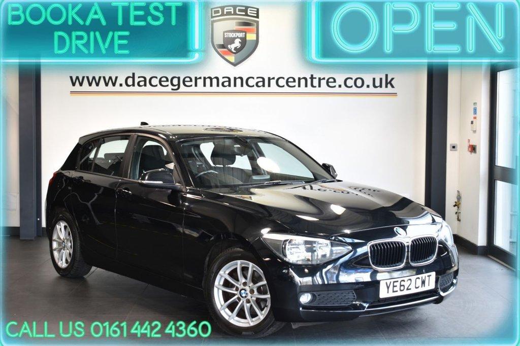 USED 2012 62 BMW 1 SERIES 1.6 116D EFFICIENTDYNAMICS 5DR 114 BHP