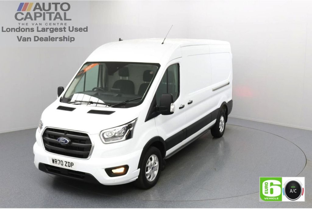 USED 2020 70 FORD TRANSIT 2.0 350 FWD Limited EcoBlue Auto 185 BHP L3 H2 Low Emission Automatic Gearbox   Sat Nav   Eco Mode   Auto Start-Stop   Front and rear parking distance sensors   Alloy wheels