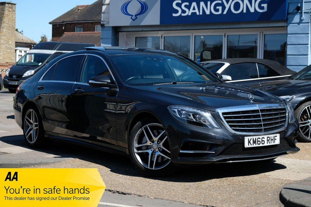 USED 2016 66 MERCEDES-BENZ S-CLASS 3.0 S 350 D L AMG LINE 4d 255 BHP AVAILABLE FOR £489 PER MONTH £0 DEPOSIT