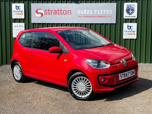 USED 2014 14 VOLKSWAGEN UP 1.0 HIGH UP 3d 74 BHP AUTOMATIC