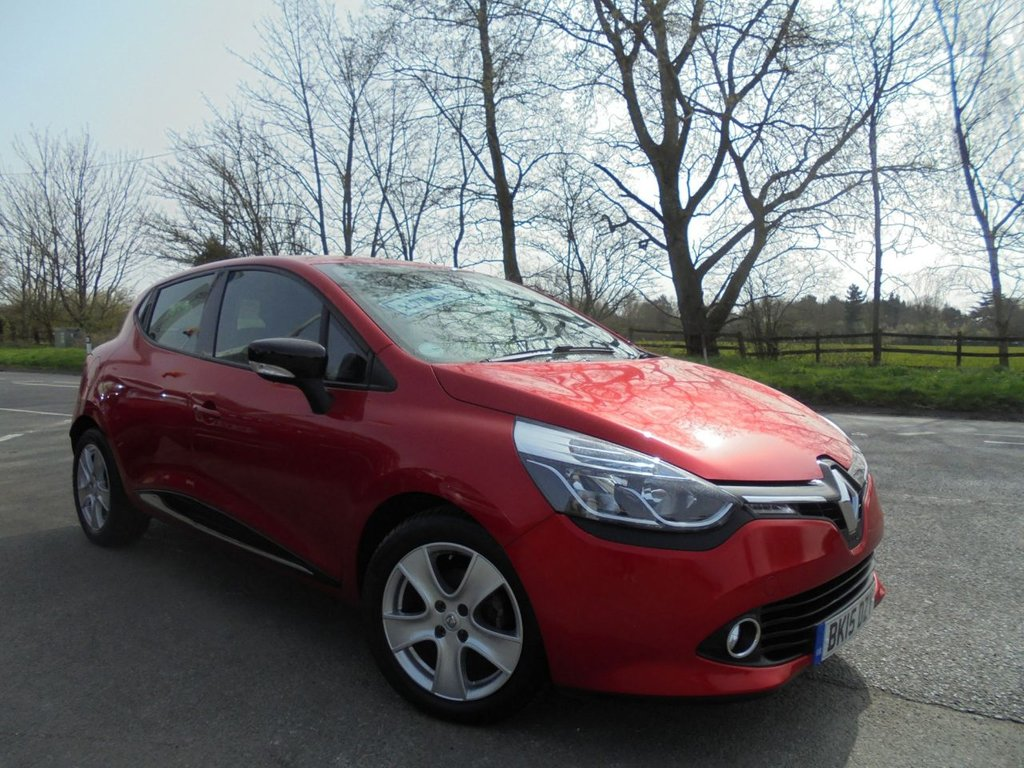USED 2015 15 RENAULT CLIO 0.9 DYNAMIQUE MEDIANAV ENERGY TCE ECO2 S/S 5d 90 BHP