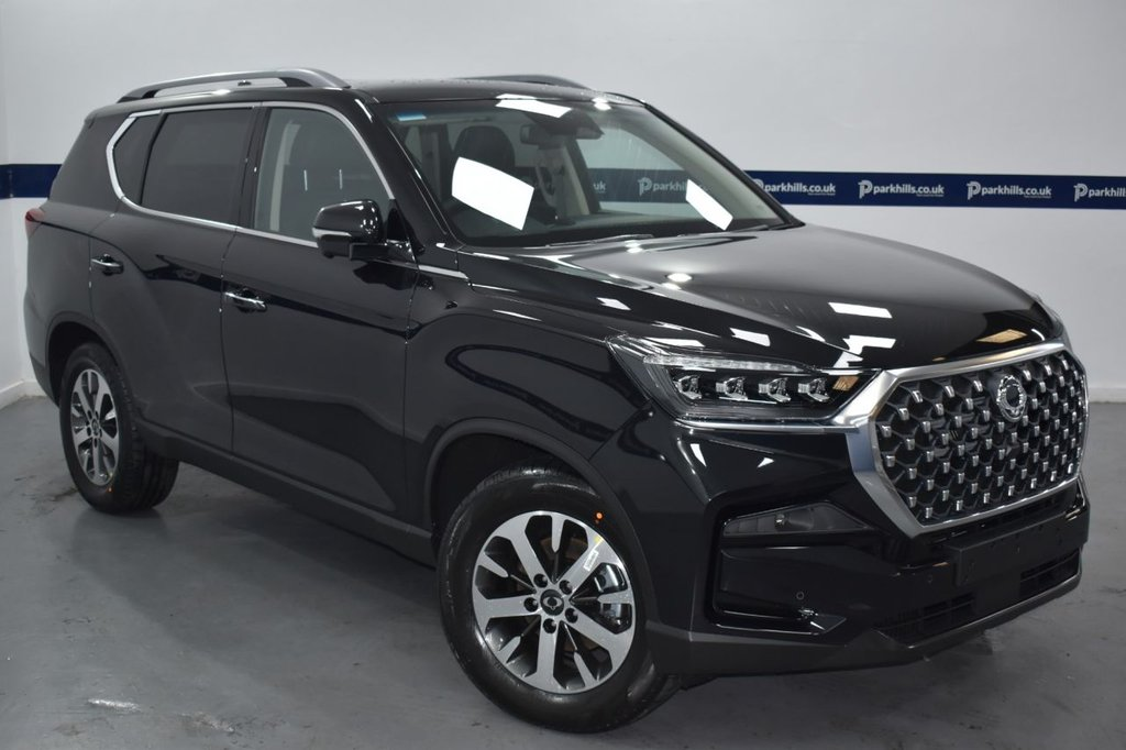 USED 2021 21 SSANGYONG REXTON 2.2 ULTIMATE 7 SEATER AUTO (# THE NEW FACELIFT 2021 MODEL)