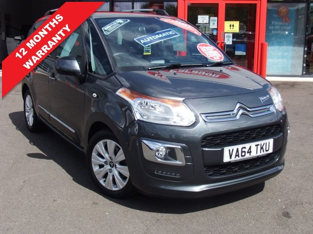 USED 2015 64 CITROEN C3 PICASSO 1.6 EXCLUSIVE EGS 5d 120 BHP *****12 Months Warranty*****