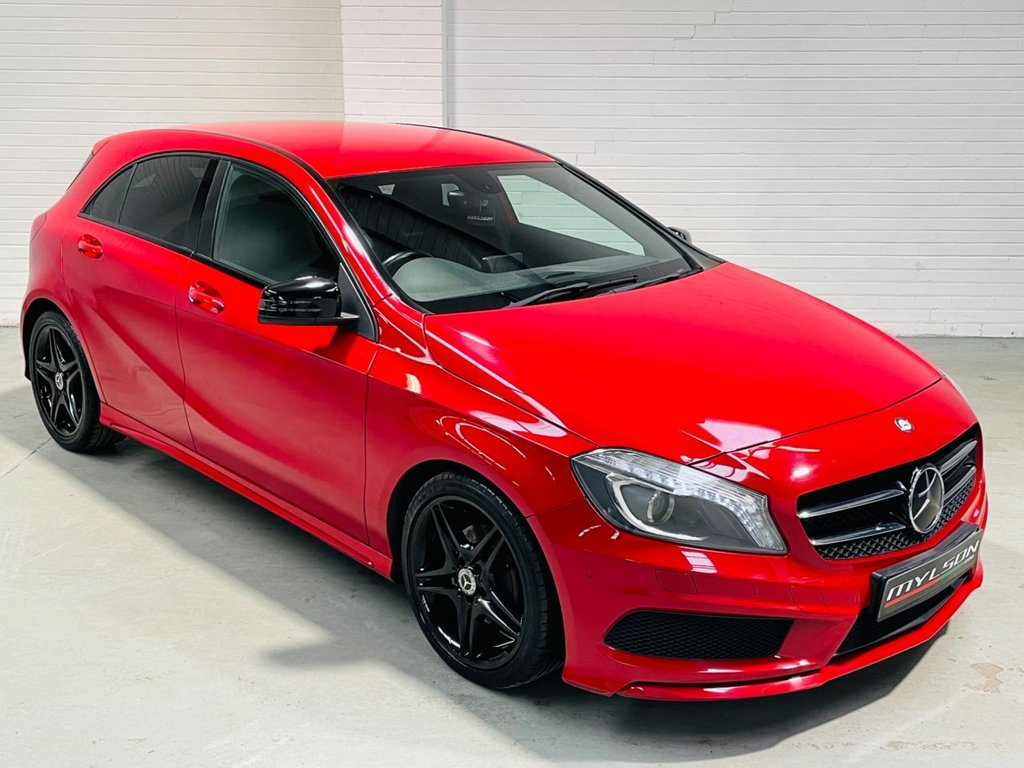 USED 2013 13 MERCEDES-BENZ A-CLASS 1.8 A180 CDI BLUEEFFICIENCY AMG SPORT 5d 109 BHP Exclusive Pack + Night Pack, Heated Seats, £30 Road Tax