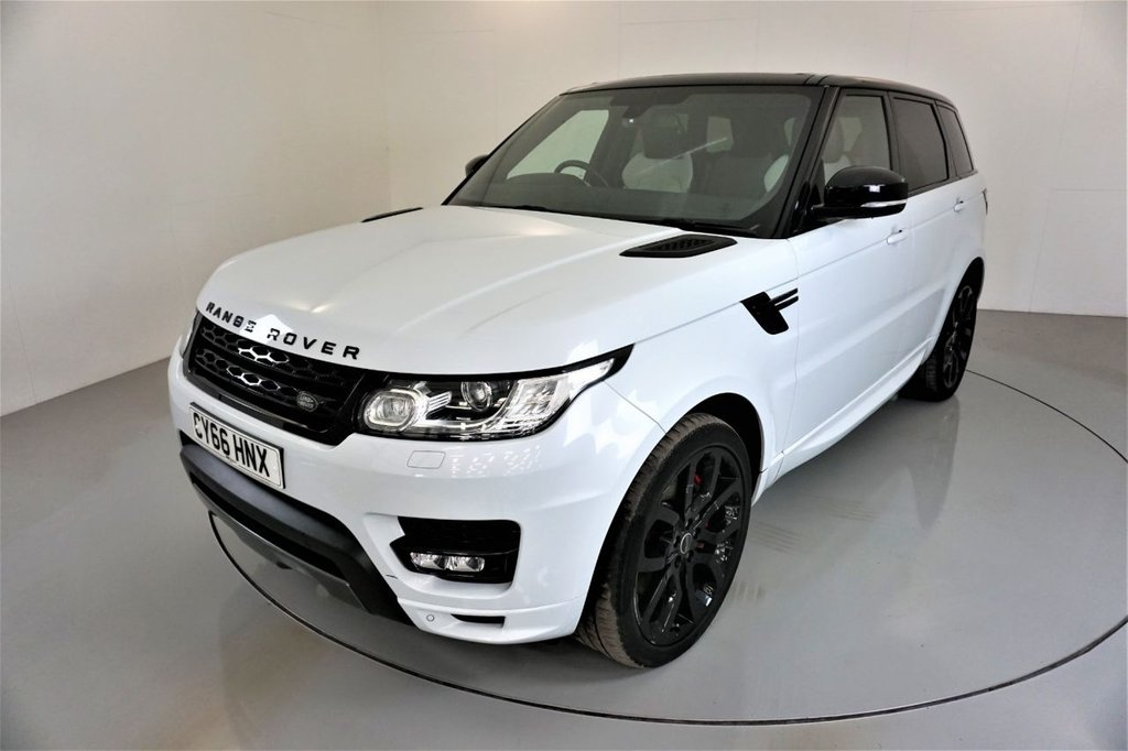 USED 2016 66 LAND ROVER RANGE ROVER SPORT 3.0 SDV6 AUTOBIOGRAPHY DYNAMIC 5d AUTO-2 OWNER CAR-22