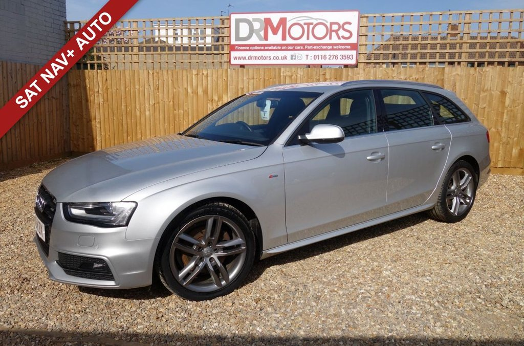 USED 2013 13 AUDI A4 2.0 AVANT TDI S LINE START/STOP 5d 148 BHP *** 6 MONTHS NATIONWIDE GOLD WARRANTY ***