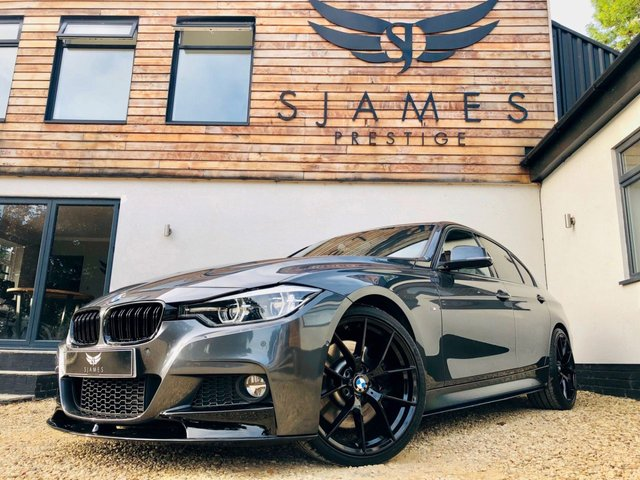 2018 67 BMW 3 SERIES 2.0 320D M SPORT 4d AUTO 188 BHP