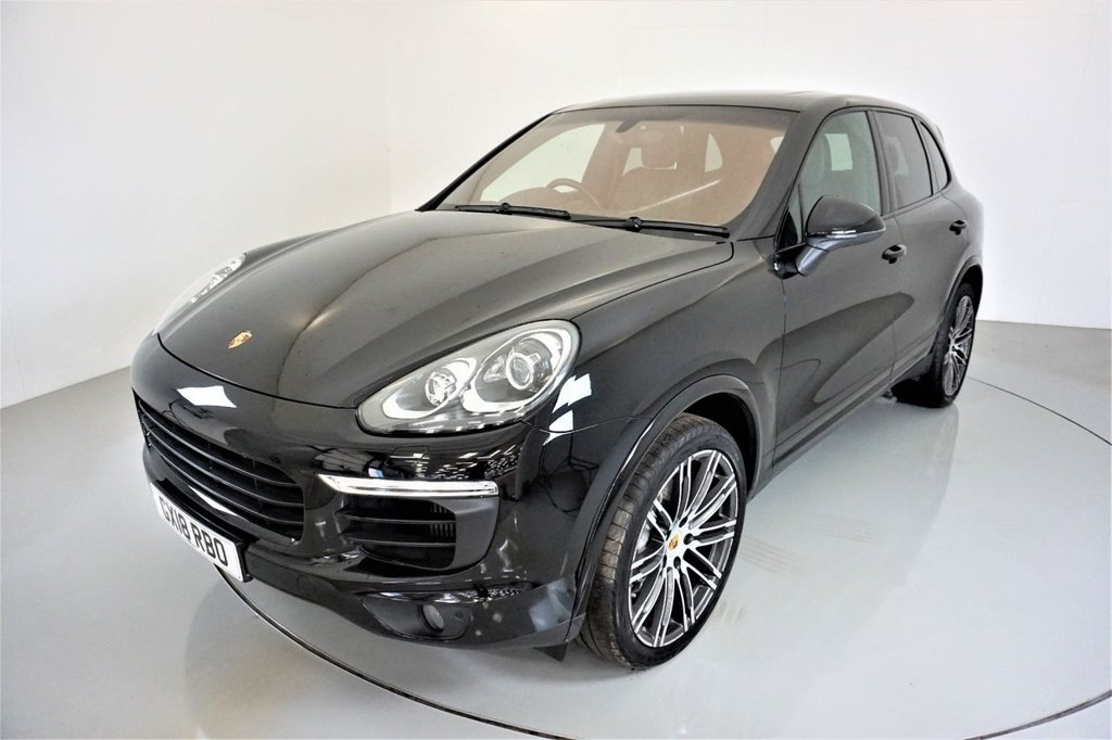 USED 2018 18 PORSCHE CAYENNE 3.0 D V6 PLATINUM EDITION TIPTRONIC S 5d AUTO-1 OWNER FROM NEW-PANORAMIC ROOF-20