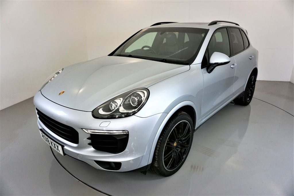 USED 2018 18 PORSCHE CAYENNE 3.0 D V6 PLATINUM EDITION TIPTRONIC S 5d AUTO-1 OWNER FROM NEW-21