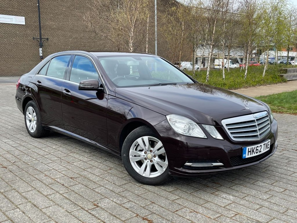 USED 2013 62 MERCEDES-BENZ E-CLASS 2.1 E200 CDI BLUEEFFICIENCY S/S SE 4d 136 BHP